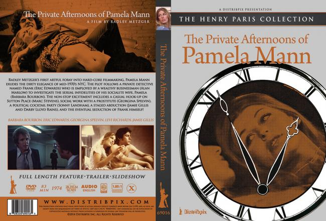 The Private Afternoons of Pamela Mann - Single Version FRONT Cover