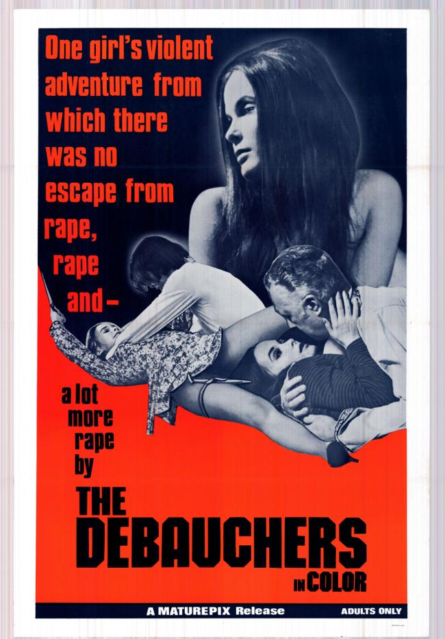 The Debauchers-Original Movie Poster