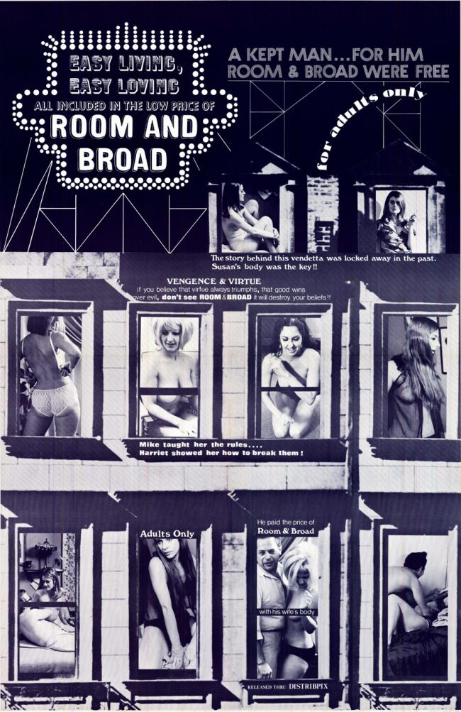 Room and Broad- Original Movie Poster