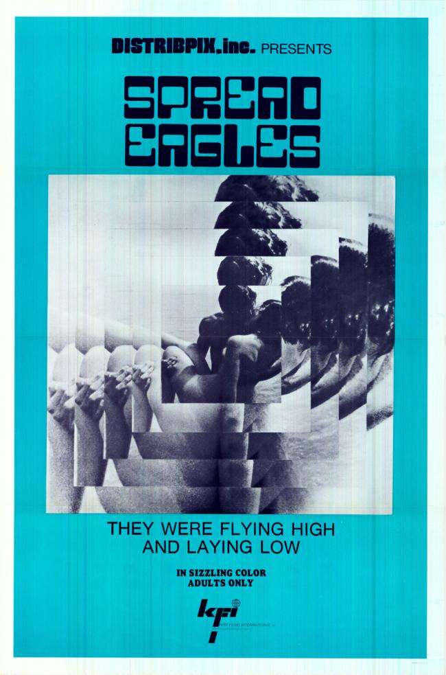 Spread Eagles -Original Movie Poster