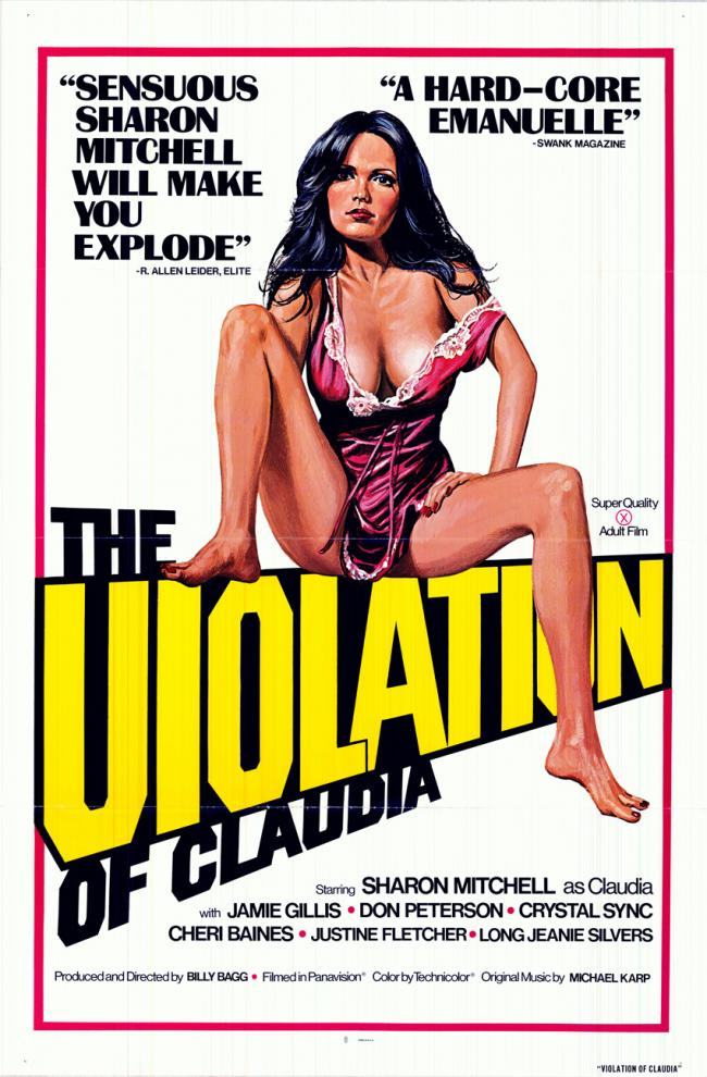 The Violation of Claudia - Original Movie Poster