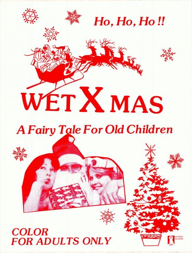 Wet X Mas - Original Movie Poster