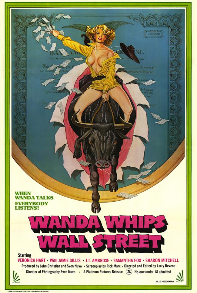 Wanda Whips Wall Street- Original Movie Poster