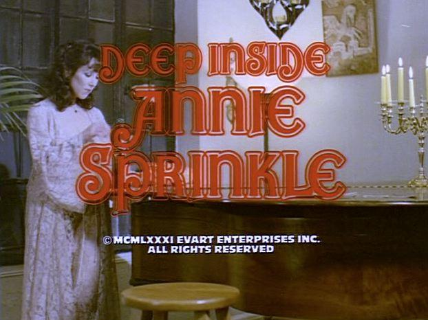 Deep Inside Annie Sprinkle: Platinum Elite Collection Disc 1- remastered from the orignal 35 mm negative