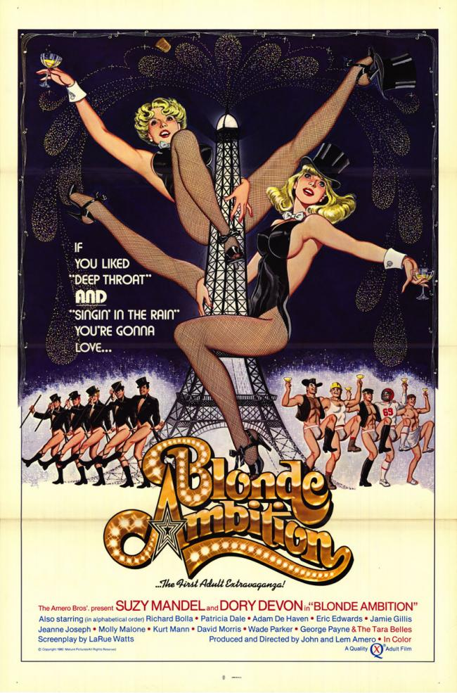 Blonde Ambition - Original Movie Poster