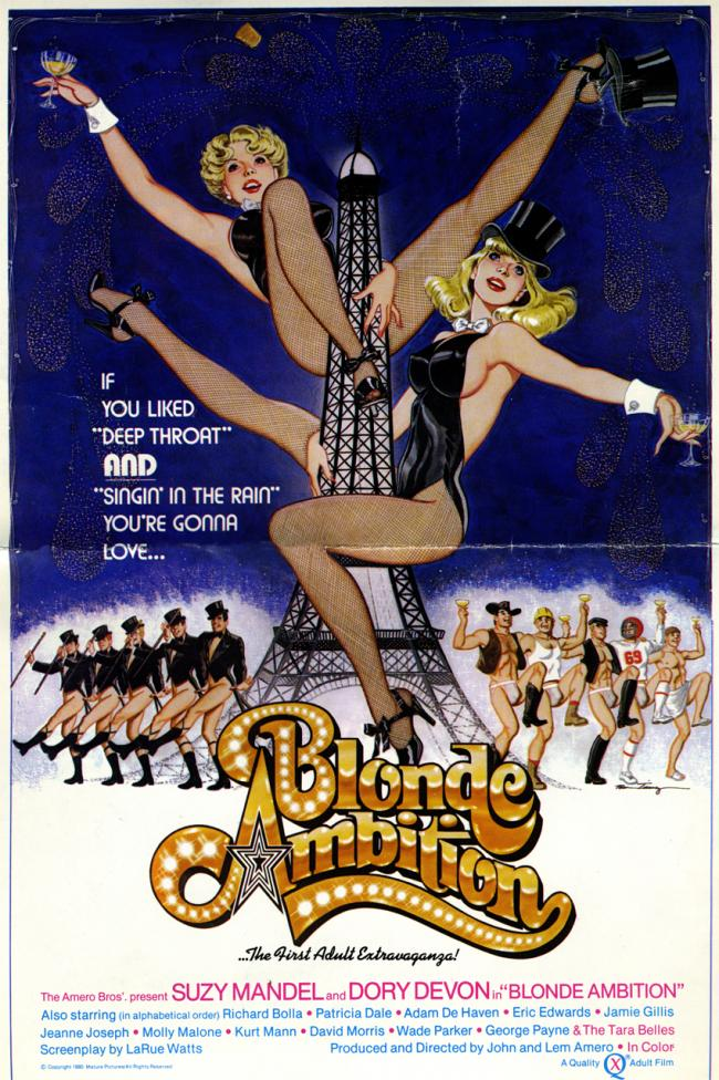 Blonde Ambition- Original Movie Poster