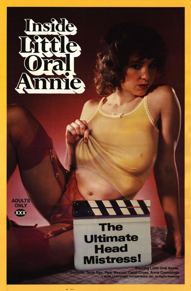 Inside Little Oral Annie - Original Movie Poster