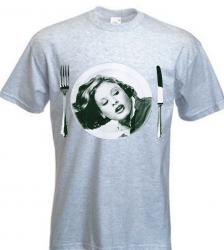 Barbara Broadcast T-Shirt - Gray