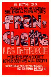 Franchette Les Intrigue- Original Movie Poster