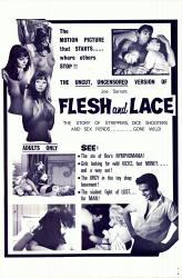 Flesh and Lace- Original Movie Poster