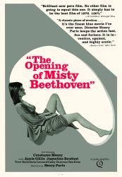 The Opening of Misty Beethoven- Original Movie Poster- Official Reproduction