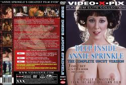 Deep Inside Annie Sprinkle: Platinum Elite Collection 3 Disc Set