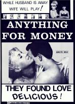 Anything For Money (B & W) Movie Poster