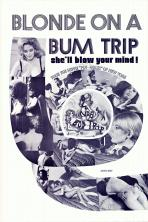 Blonde On  A Bum Trip (B & W) Movie Poster