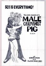 Erotic Memoirs of a Male Chauvinist Pig Movie Poster