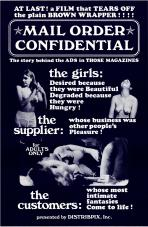 Mail Order Confidential ( B & W) Movie Poster