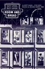 Room And Broad (B & W) Movie Poster