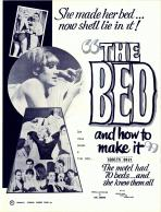 The Bed And How To Make It! (B & W) Movie Poster