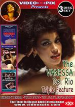 The Vanessa Del Rio Triple Feature -3 Pack DVD